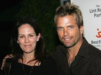 Annabeth Gish and her husband David Chokachi at the Best Friends Animal Society's annual fund-raiser