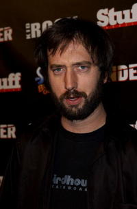 Tom Green at the Kid Rock after party for the American Music Awards.
