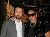 Tom Green and Andrew Dice Clay at the inaugural Arby's Action Sports Awards.