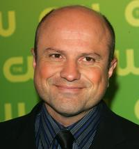 Enrico Colantoni at the CW Television Network Upfront.