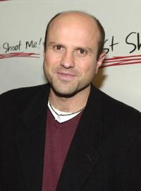 Enrico Colantoni at the party, celebrating the 100th episode of