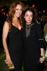 Rebecca Creskoff and Jane Adams at the after party of the premiere of