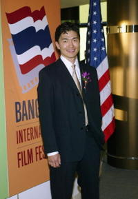 Rick Yune at the 2004 Bangkok International Film Festival.