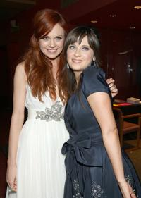 Rachel Boston and Zooey Deschanel at the after party of the California premiere of