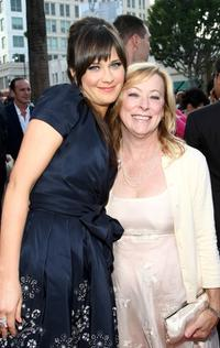 Zooey Deschanel and Nancy Utley at the California premiere of