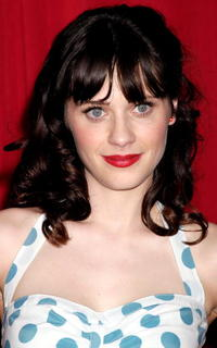 Actress Zooey Deschanel at the Second Biennal What A Pair! Cabaret Extravaganza Benefit in California.