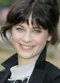 Actress Zooey Deschanel at
