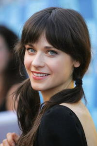 Actress Zooey Deschanel at the California premiere of