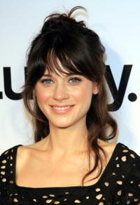 Actress Zooey Deschanel at the Lucky Magazine September Issue and LA Shopping Guide celebration.