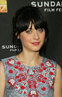 Actress Zooey Deschanel at the Utah premiere of