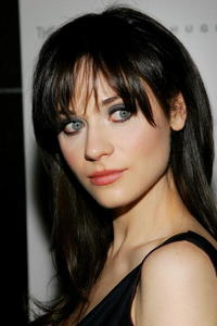 Actress Zooey Deschanel at the N.Y. screening of