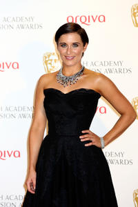 Vicky McClure at the Arqiva British Academy Television Awards 2012 in London.