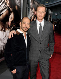 Lee Sternthal and Brian Klugman at the California premiere of