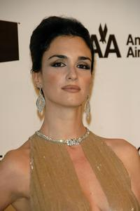 Paz Vega at the 16th Annual Elton John AIDS Foundation Academy Awards viewing party.