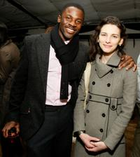 Derek Luke and Liane Balaban at the after party of the world premiere of