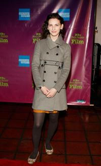 Liane Balaban at the premiere of
