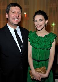 Director Joel Hopkins and Liane Balaban at the premiere of