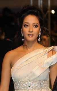 Raima Sen at the International Indian Film Academy (IIFA) Awards 2008 ceremony.