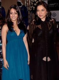 Raima Sen and director Mira Nair at the premiere of