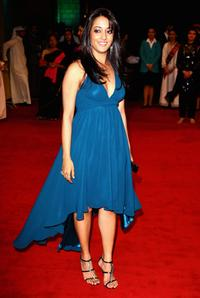 Raima Sen at the premiere of