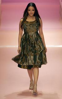 Raima Sen at the grand finale of Lakme Fashion Week.