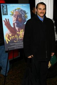 Michael Stuhlbarg at the opening night of