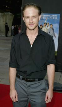 Ben Foster at the Los Angeles premiere of