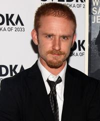 Ben Foster at the New York premiere of