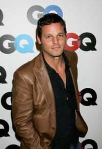 Justin Chambers at the GQ magazines 2005