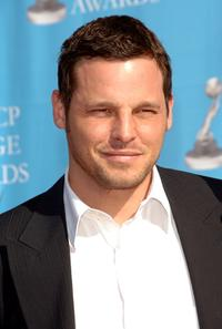 Justin Chambers at the 38th annual NAACP Image Awards.