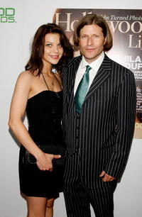 Lauren German and Crispin Glover at the Hollywood Life Magazine's 9th Annual Young Hollywood Awards.