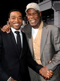 Chiwetel Ejiofor and Danny Glover at the California premiere of