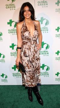 Emmanuelle Chriqui at the Global Green USA's Annual Oscar Party.