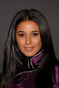 Emmanuelle Chriqui at the Vivienne Tam Fall 2007 fashion show during the Mercedes-Benz Fashion Week.