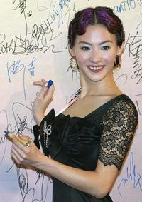 Cecilia Cheung at the 24th Annual Hong Kong Film Awards.