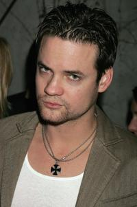 Shane West at the after party following the premiere of