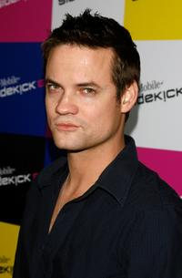 Shane West at the T-Mobile Sidekick iD launch party.