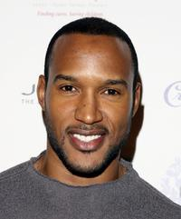Henry Simmons at the launch of Jaime Presslys Spring/Summer 07.