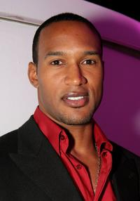 Henry Simmons at the launch of