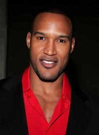 Henry Simmons at the Grand Gala Hilton VIP reception.