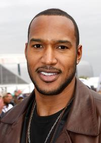 Henry Simmons at the Fox's Super Bowl XLII red carpet.