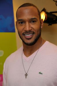 Henry Simmons at the Luxury Lounge in honor of the 2008 SAG Awards.