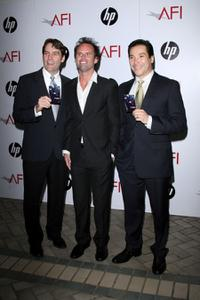 David Rees Snell, Walton Goggins and Benito Martinez at the AFI Awards 2008.