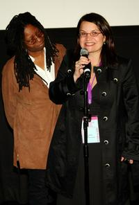Whoopi Goldberg and Sydney Meeks at the 2007 Tribeca Film Festival school screening of
