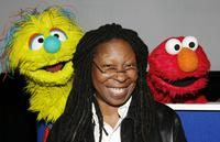 Whoopi Goldberg at the United Nations International School at a press conference to announce a new worldwide initiative