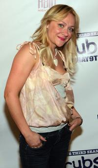 Nicole Sullivan at the third season DVD launch event and season five wrap party for the television series