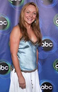 Nicole Sullivan at the ABC TCA party.