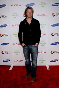 Eric Christian Olsen at the Maxim Magazine Super Bowl XLIII party.