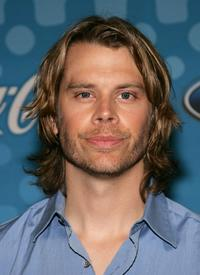Eric Christian Olsen at the party to celebrate the American Idol top 12 finalists.