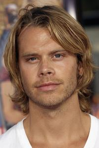Eric Christian Olsen at the premiere of